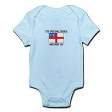 The Episcopal church welcomes you Body Suit