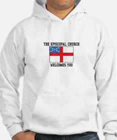 The Episcopal church welcomes you Hoodie