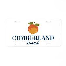 Cumberland Island - Georgia Aluminum License Plate