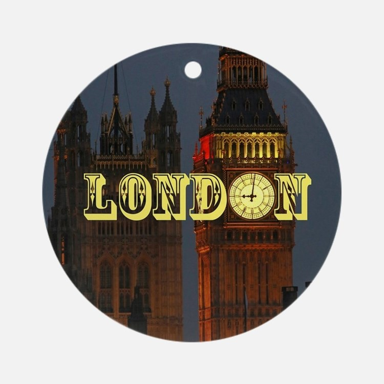 LONDON GIFT STORE Ornament (Round)