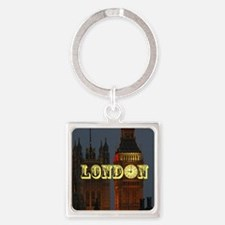 LONDON GIFT STORE Square Keychain