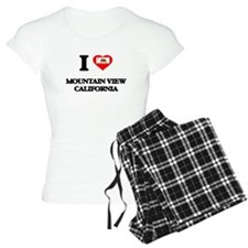 I love Mountain View Califo Pajamas