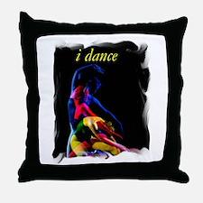 i dance Throw Pillow