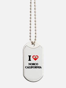 I love Norco California Dog Tags