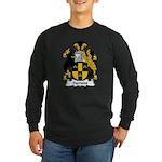 Symons Family Crest Long Sleeve Dark T-Shirt
