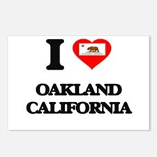 I love Oakland California Postcards (Package of 8)