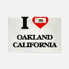 I love Oakland California Magnets