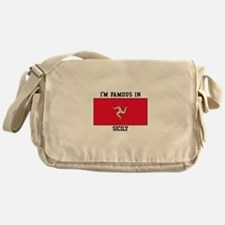 I'M Famous in Sicily Messenger Bag