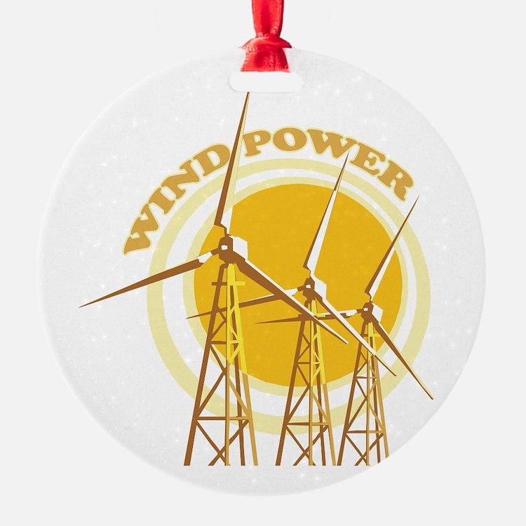 Wind Power Ornament