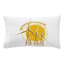Wind Power Pillow Case