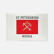 St. Petersburg Flag Magnets