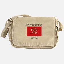 St. Petersburg Flag Messenger Bag