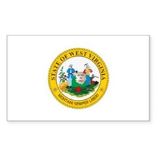 West Virginia State Seal Decal
