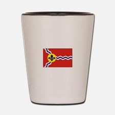 St. Louis Flag Shot Glass