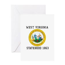 West Virginia Statehood 1863 Greeting Cards