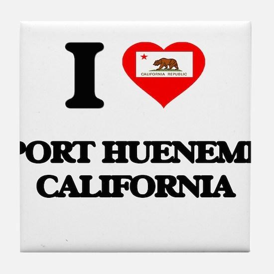I love Port Hueneme California Tile Coaster