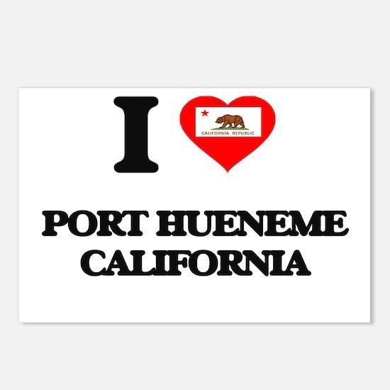 I love Port Hueneme Calif Postcards (Package of 8)