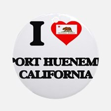 I love Port Hueneme California Ornament (Round)