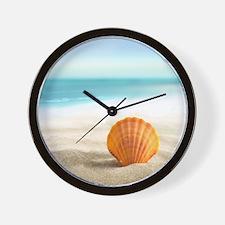 Summer Sand Wall Clock