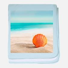 Summer Sand baby blanket