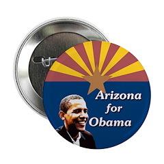 Ten Arizona for Obama buttons