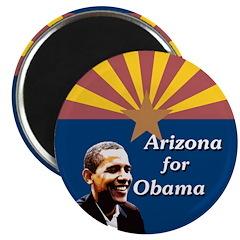 Arizona for Obama campaign magnet