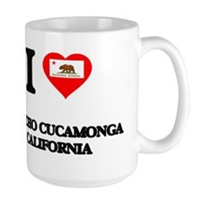 I love Rancho Cucamonga California Mugs