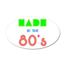 made in the 80s Wall Decal