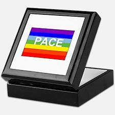 Rainbow Peace Flag Keepsake Box