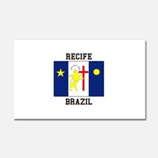 Recife, Brazil Car Magnet 20 x 12