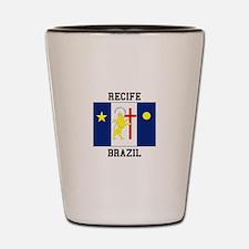Recife, Brazil Shot Glass