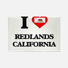 I love Redlands California Magnets