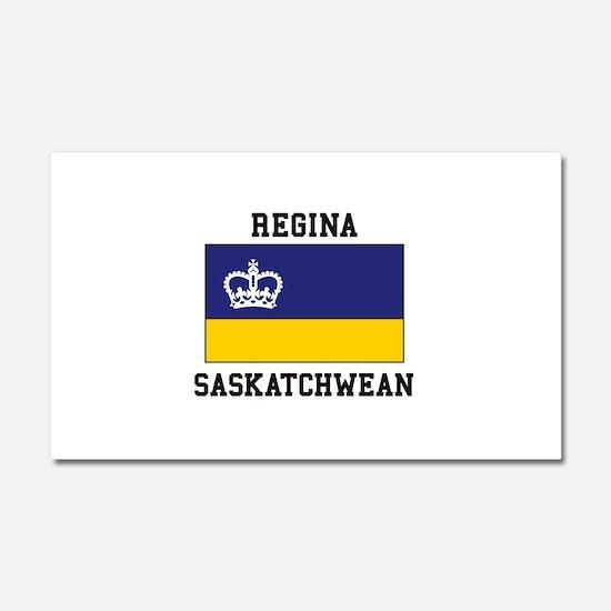 Regina, Saskatchewan Car Magnet 20 x 12