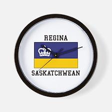 Regina, Saskatchewan Wall Clock