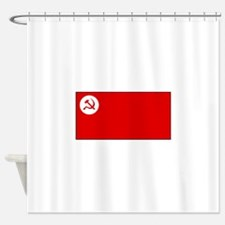 Revolutionary Socialist Party Flag Shower Curtain