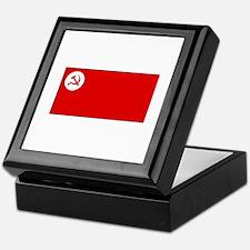 Revolutionary Socialist Party Flag Keepsake Box