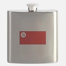 Revolutionary Socialist Party Flag Flask