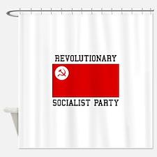 Revolutionary Socialist Party Shower Curtain