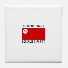 Revolutionary Socialist Party Tile Coaster