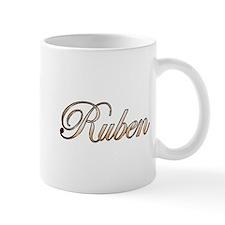 Gold Ruben Mugs