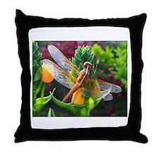 DragonflyThrow Pillow