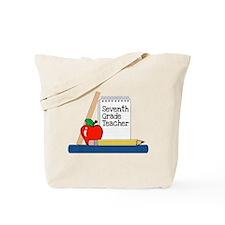 Seventh Grade Teacher (Notebook) Tote Bag