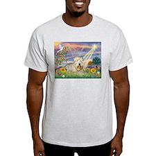 Cloud Angel & Wheaten Terrier T-Shirt