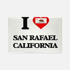 I love San Rafael California Magnets
