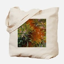 Monet - Path through the Irises Tote Bag