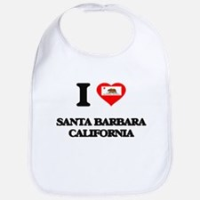 I love Santa Barbara California Bib