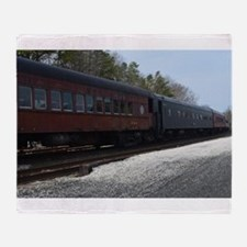 Abandon Traincars Throw Blanket