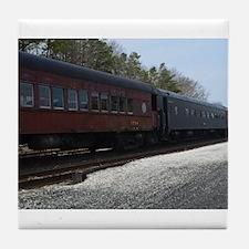 Abandon Traincars Tile Coaster