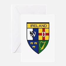 Irish Shield Greeting Cards