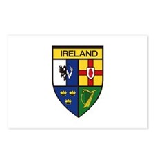 Irish Shield Postcards (Package of 8)